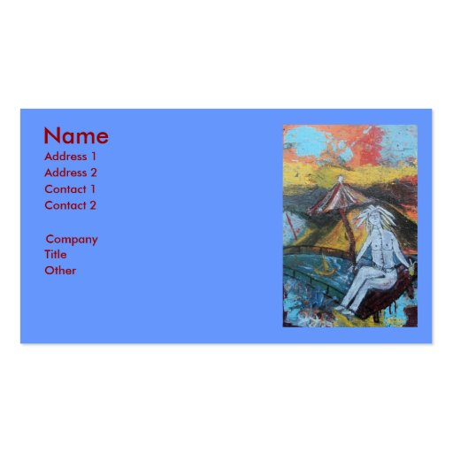 GOLDEN GETAWAY BUSINESS CARD TEMPLATE
