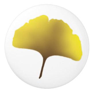 Golden Ginko knob