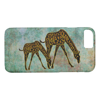 Golden Giraffe iPhone 7 case