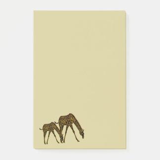 Golden Giraffe Post-it® Notes