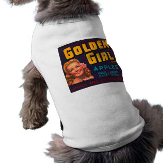 Golden Girl Brand Apples Vintage Advertisment Shirt