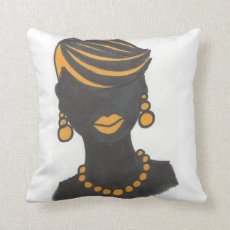 Golden Girl Cushion