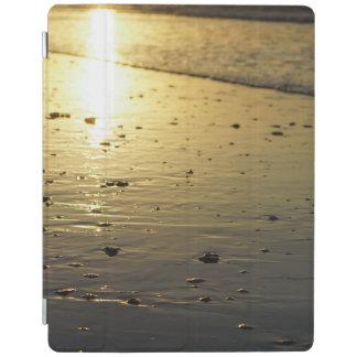 Golden Glassy Sand iPad Cover