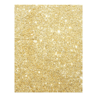 Golden Glitter Diamond 21.5 Cm X 28 Cm Flyer