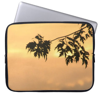 Golden Glow Sunset Laptop Computer Sleeve