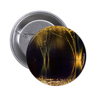 Golden Glow Waterscape Button