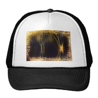 Golden Glow Waterscape Trucker Hats