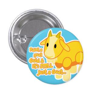 Golden Goat Button