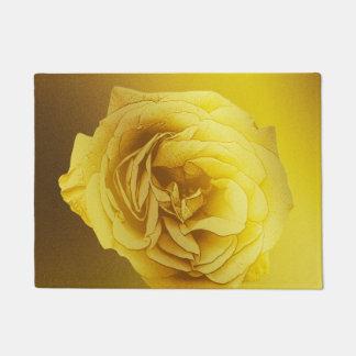 Golden Gradient Rose Doormat