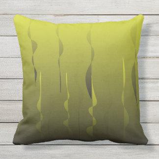 golden green cushion