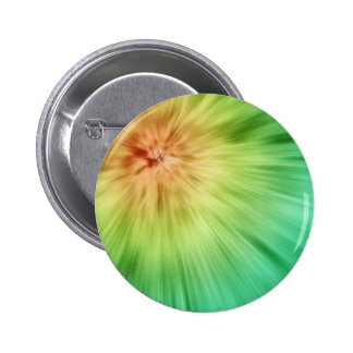 Golden Green Tie Dye Buttons