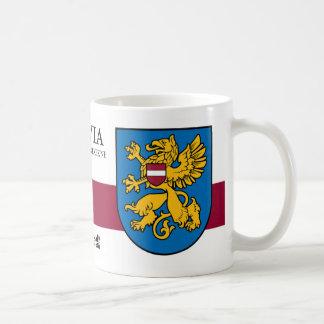 Golden Griffin from Rezekne Latvia Coffee Mug