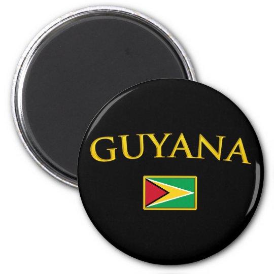 Golden Guyana Magnet