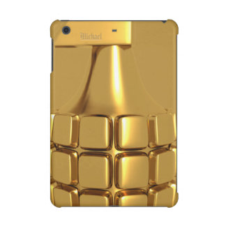 Golden Hand Grenade iPad  Retina Case