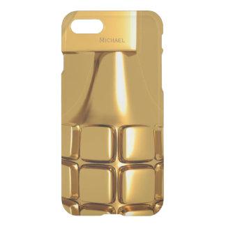 Golden Hand Grenade iPhone 7 Case