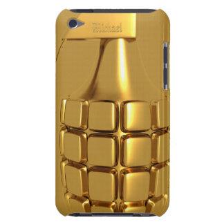 Golden Hand Grenade iPod Case-Mate Case