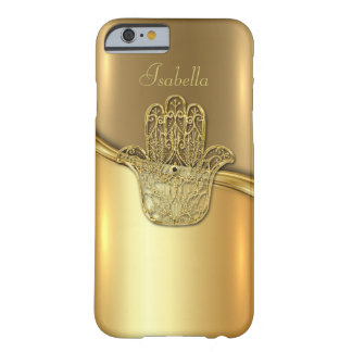 Golden Hand Sign Background iPhone 6/6s Case