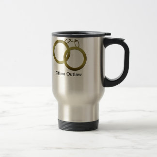 Golden Handcuffs Travel Coffee Mug