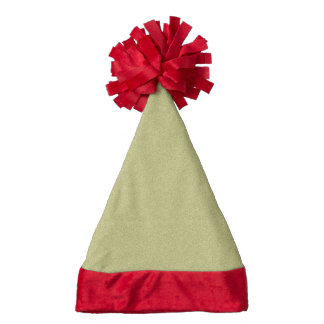 Golden Hat Santa Hat