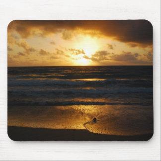 Golden Hawaii Sunrise Mousepads