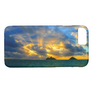 Golden Hawaiian Tropical Sunset iPhone 8/7 Case