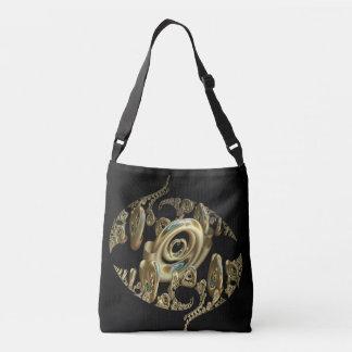 Golden Heart Crossbody Bag