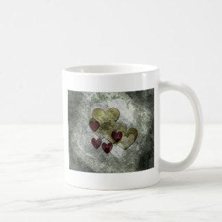 Golden Hearts Gift Coffee Mug