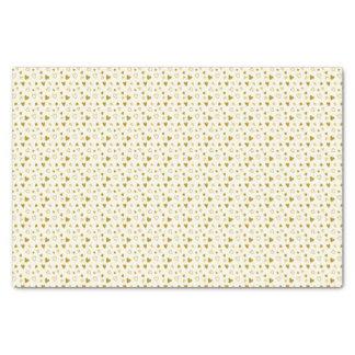 Golden Hearts Valentine's Day Tissue Paper