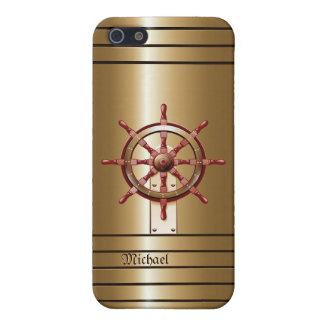 Golden  Helm Sailor's  iPhone 5 Case