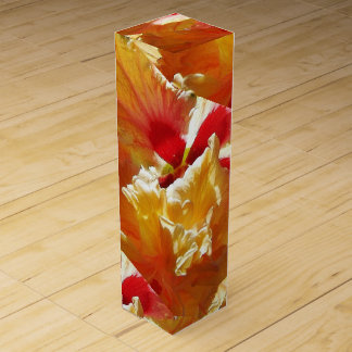 Golden Hibiscus Wine Gift Box