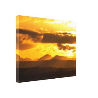 Golden Hills Canvas Print