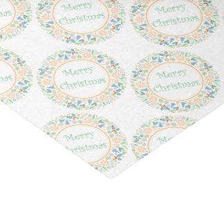 "Golden Holiday Wreath Tissue Paper 10"" X 15"" Tissue Paper"