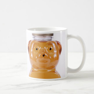 Golden Honey Bear Face 2 Sided Coffee Mug