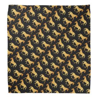 Golden Horses Kerchief