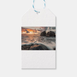 Golden hour gift tags