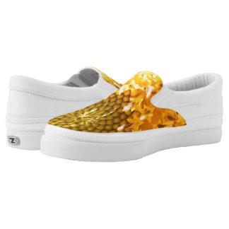 Golden Hues Z slipons Slip On Shoes