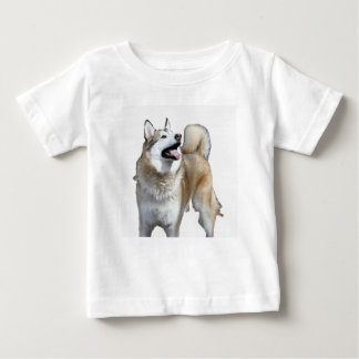 Golden Husky Looking Up Baby T-Shirt