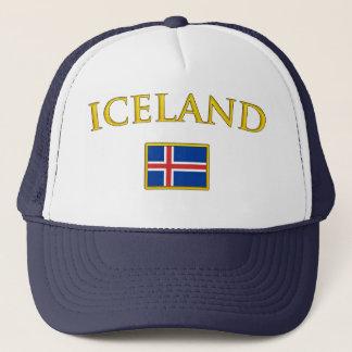 Golden Iceland Trucker Hat