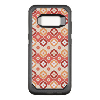 Golden ikat geometric pattern OtterBox commuter samsung galaxy s8 case