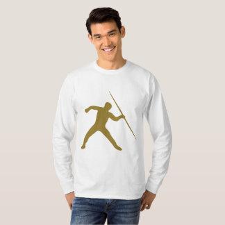 Golden Javelin Throw Long Sleeve T-Shirt
