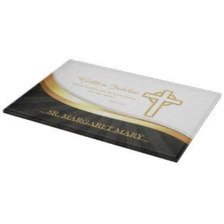 Golden Jubilee, 50 Year Anniversary Nun Cutting Board