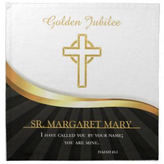 Golden Jubilee of Religious Life, 50 Year Napkin