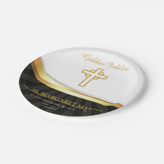 Golden Jubilee of Religious Life, 50 Year Paper Plate
