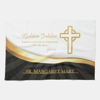 Golden Jubilee of Religious Life, 50 Year Tea Towel