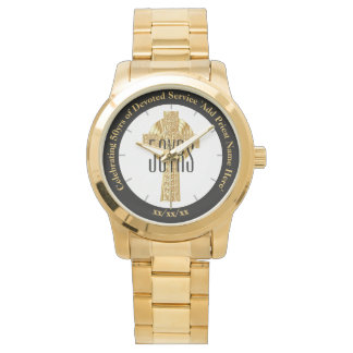 Golden Jubilee Religious Clergy Priest Anniversary Watch