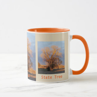 Golden Kansas State Tree - Cottonwood Mug