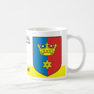 Golden King Crown from Rakvere Estonia Coffee Mug