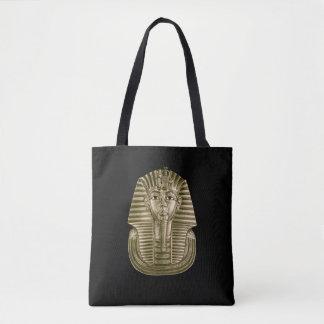Golden King Tut All-Over-Print Tote Bag