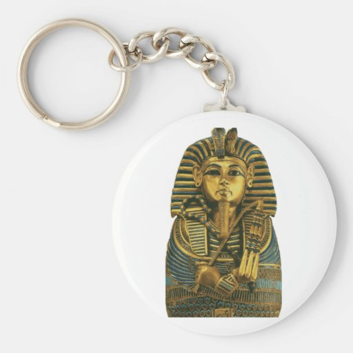 Golden King Tut Key Chain