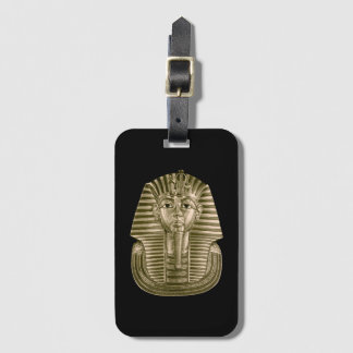 Golden King Tut Luggage Tag